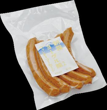朝霧ヨーグル豚ウィンナーソーセージ1パック